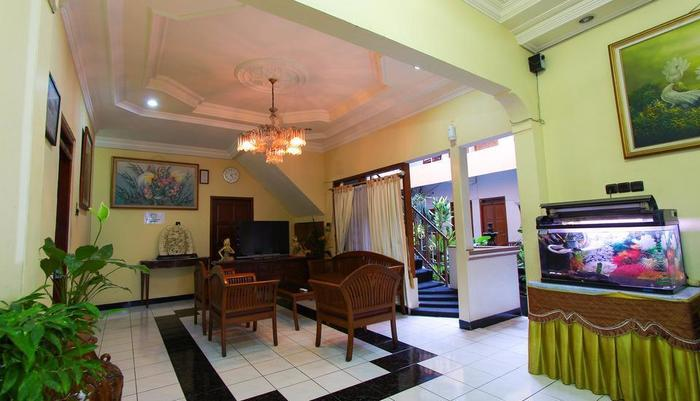 Vidi 2 Hotel Yogyakarta - lobby hotel