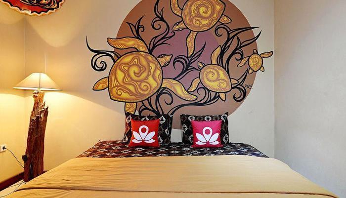 ZenRooms Malioboro Sosrowijayan Wetan - Tampak tempat tidur double