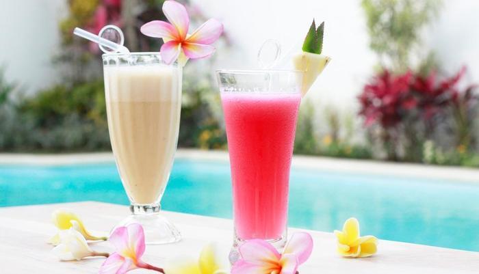 Spazzio Hotel Bali - food menu