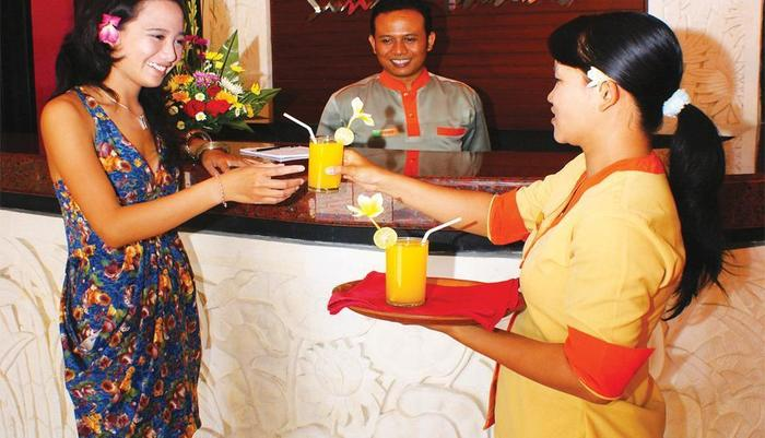 Grand Sinar Indah Bali - Resepsionis