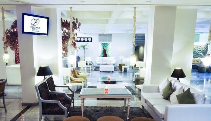 J Boutique Hotel Kuta - Lounge & Lobi