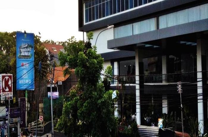 D River Guest House Bandung - Pemandangan dari Kamar Hotel