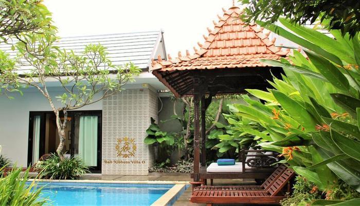 The Nibbana Villas Bali - kolam renang