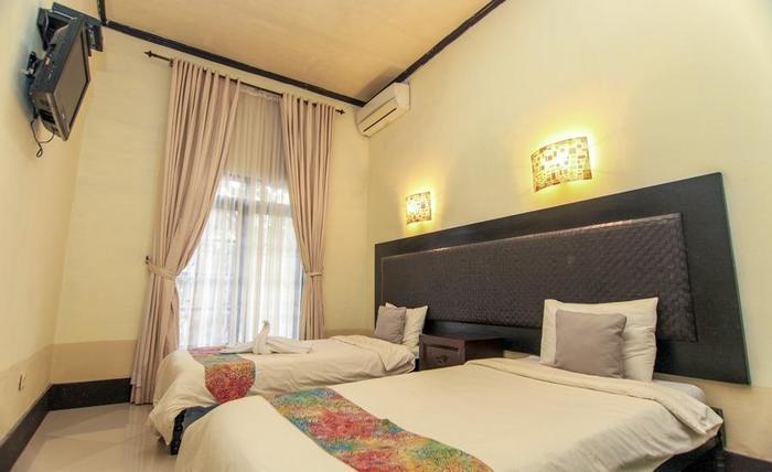 Villa Padi Pakem Yogyakarta - dua tempat tidur