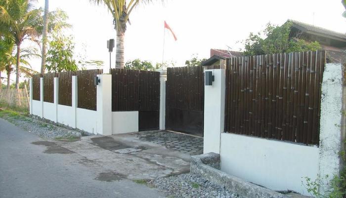 Villa Padi Pakem Yogyakarta - villa tampak depan