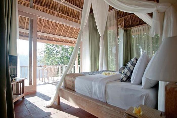 Puri Sebatu Resort Bali - Kamar tamu