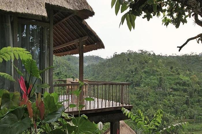 Puri Sebatu Resort Bali - Pemandangan