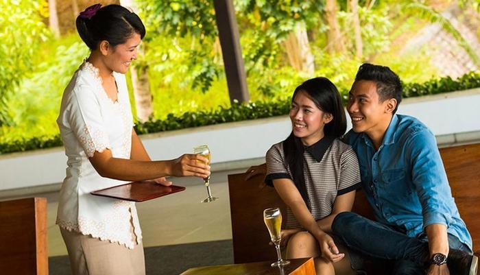 Turi Beach Resort Batam - Welcome Drink Service