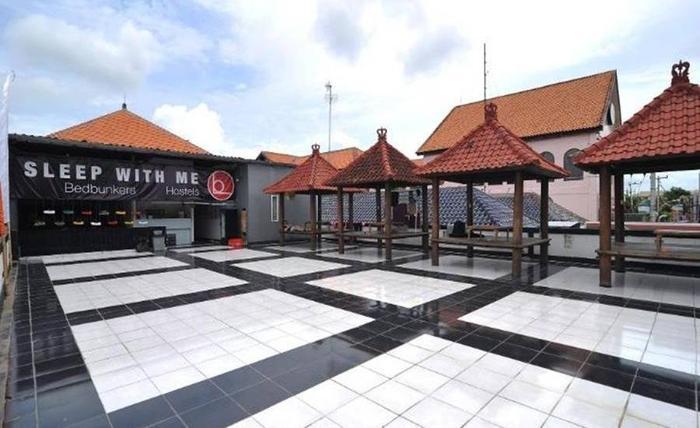 Nama Hotel Bedbunker Hostels 2 Alamat Jl Kartika Plaza No 22 Kuta Indonesia 80361Bali Rating Star Murah Bintang Di Bali