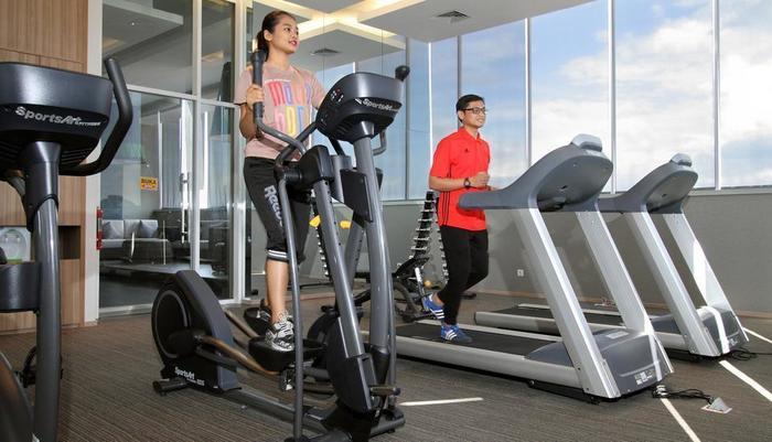 Tangram Hotel Pekanbaru Pekanbaru - GYM