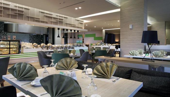 Tangram Hotel Pekanbaru Pekanbaru - Restaurant