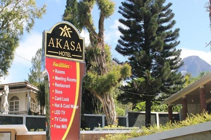 Akasa Hotel Kaliurang Yogyakarta - Tampilan Luar Hotel