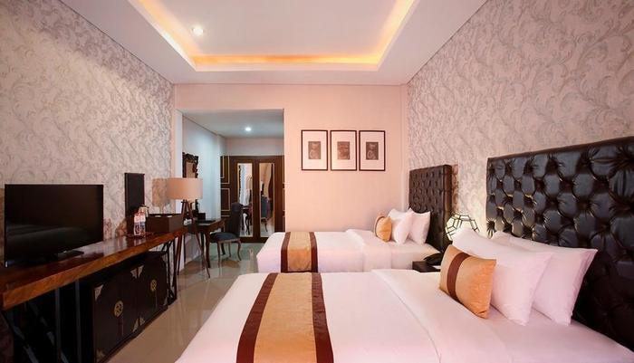 Visala Boutique Suites Bali - Deluxe Tempat Tidur Twin