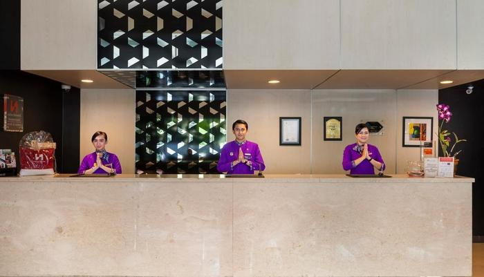 Swiss-Belinn Malang - Reception Counter