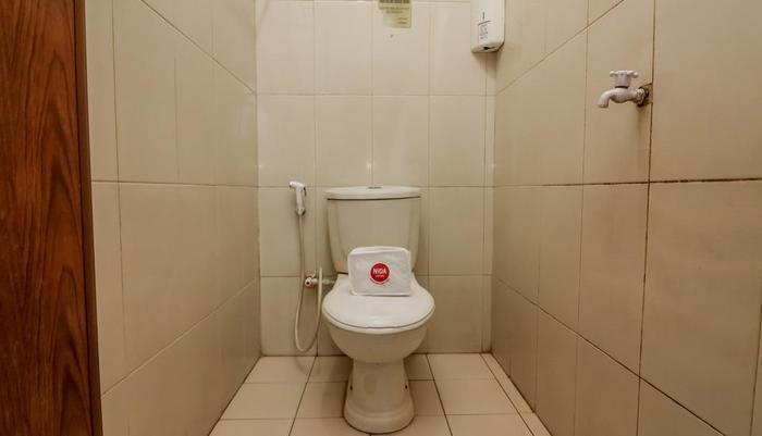 NIDA Rooms Sudirman 419B Pekanbaru - Kamar mandi