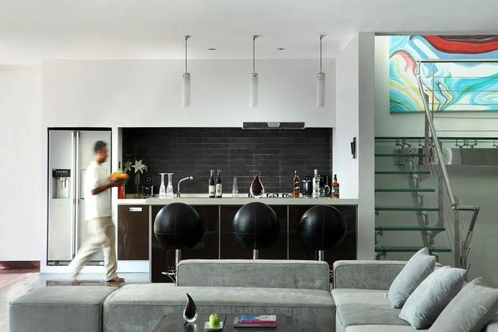 C151 Luxury Villas Dreamland Bali - Ruang tamu