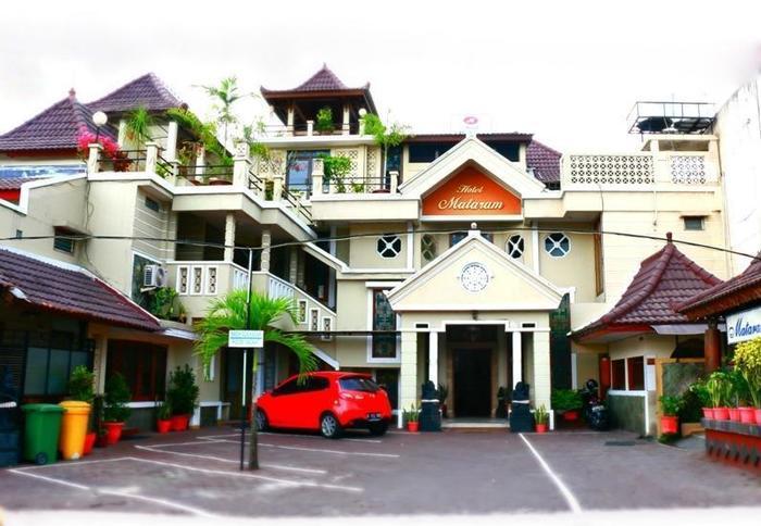 Hotel Mataram 1 Yogyakarta - tampak depan