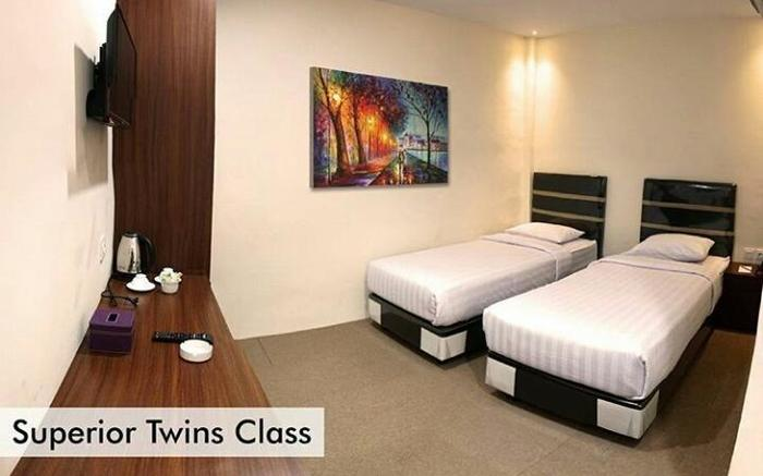 Superstar Hotel Dumai - Superior Twin
