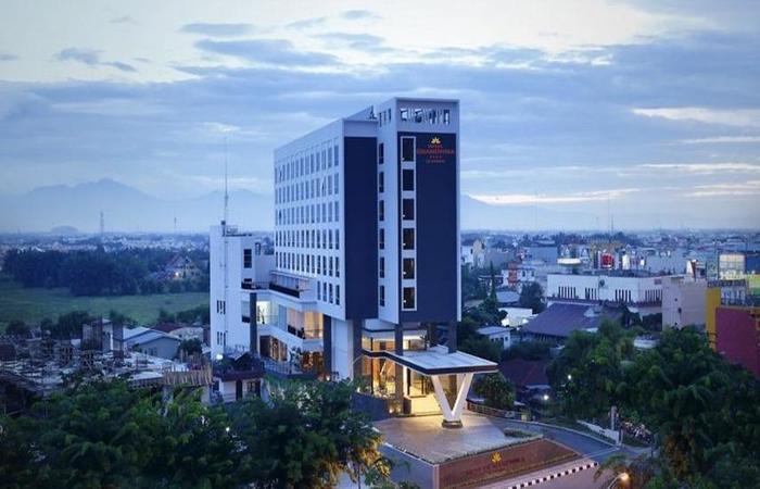 Hotel Grandhika Setiabudi Medan Medan - Eksterior