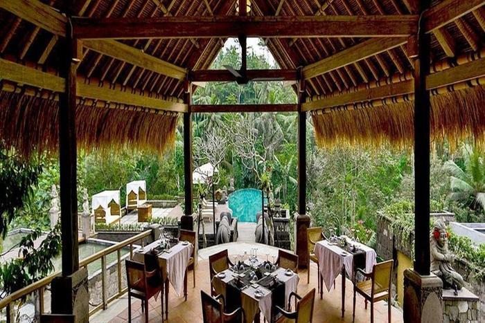 The Kayon Resort Bali - Ruang Makan