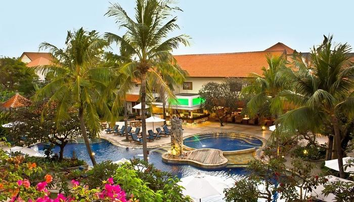 Bali Rani Hotel Bali - Pemandangan Kolam Renang