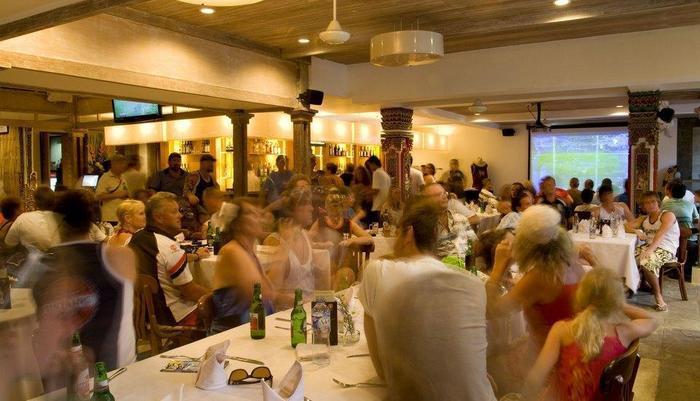 Rama Garden Hotel Bali - Restaurant dan Sports Bar