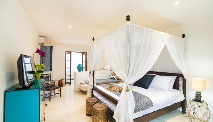 Calma Ubud Bali - Kamar tidur