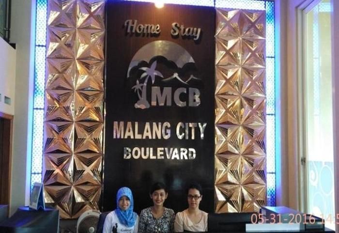 Malang City Boulevard Homestay Klojen - Resepsionis