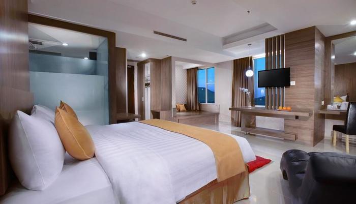 Aston Lampung City Hotel Bandar Lampung - Kamar Deluxe