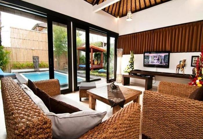 Antara Villas Bali - Ruang tamu