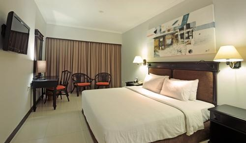 Sanur Paradise Plaza Suite Bali - Kamar tidur