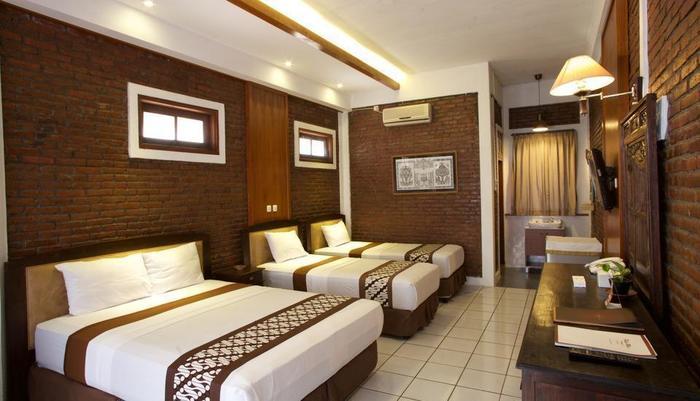 Paku Mas Hotel Yogyakarta - Family room