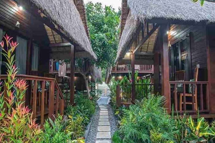 The Nichos Bungalow Bali - Eksterior