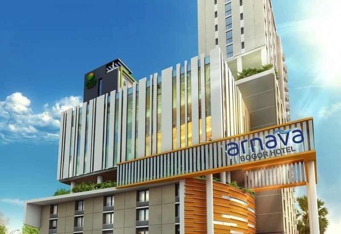 Arnava Hotel Bogor - Tampilan Luar Hotel