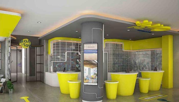 Yello Hotel Jemursari - Lobby
