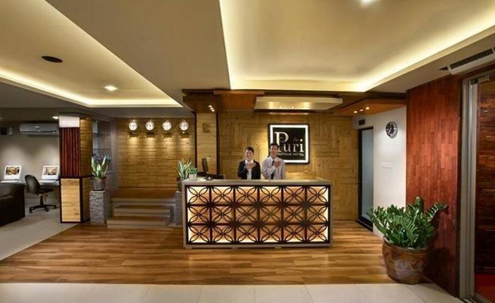 De Puri Boutique Hotel Surabaya - Resepsionis