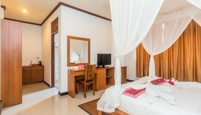 ZenRooms Ubud Nyuh Kuning Bali - Tempat Tidur Double
