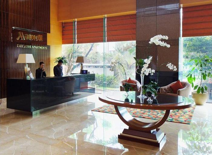 Marriott Executive Apartments Mayflower Setiabudi - Guestroom