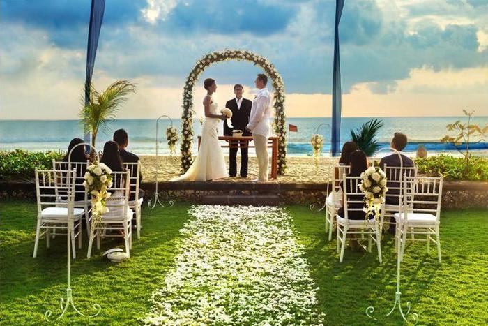 The Oberoi Bali - Outdoor Wedding Area