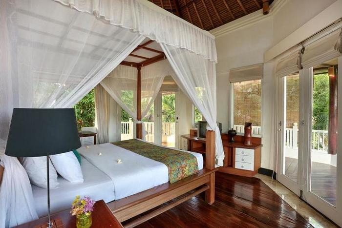 Gajah Biru Bungalows Bali - Living Area