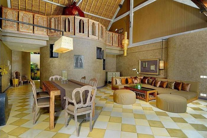 Space at Bali Villas Bali - Lobby Sitting Area