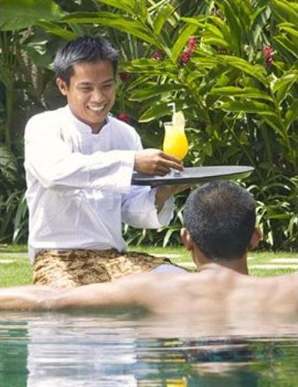 Space at Bali Villas Bali - Poolside Bar