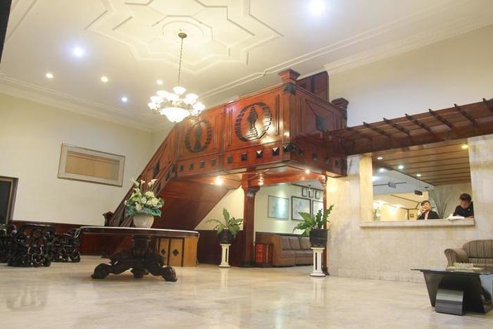Hotel Penataran Asta Kediri - Lobby dan Resepsionis