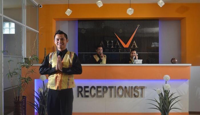 Hotel Ahava Magelang - resepsionis