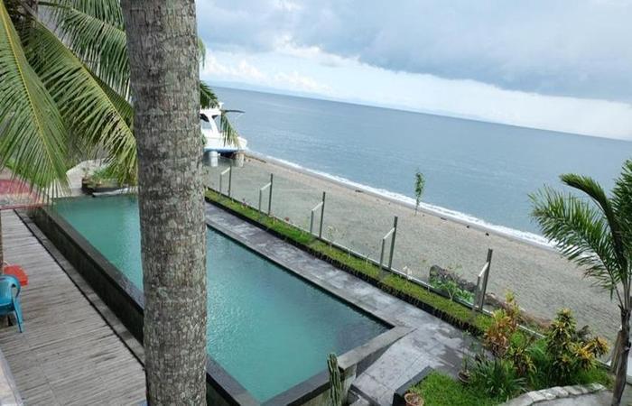 Villa Indah Batu Layar Lombok - Kolam Renang