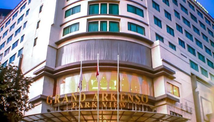 Grand Arkenso Park View Simpang Lima Semarang - gedung depan