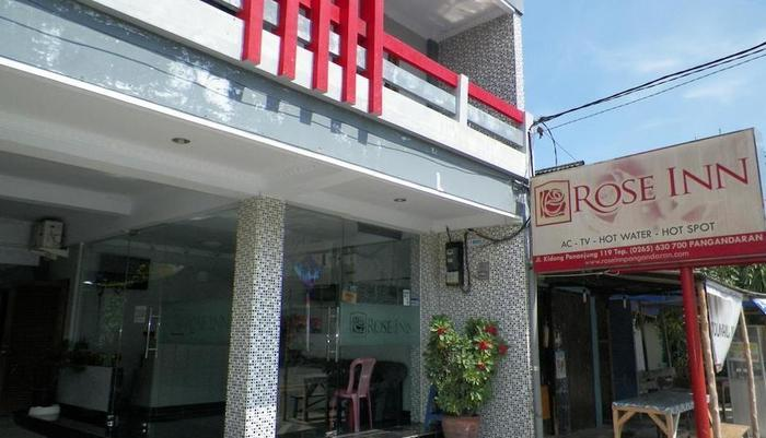 Rose Inn Hotel Pangandaran - Tampilan Luar Hotel