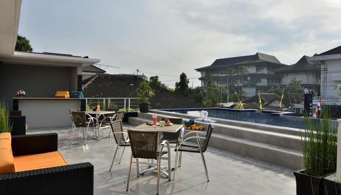 TOP Malioboro Hotel Yogyakarta - Rooftop