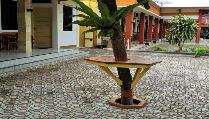 Ahlen Pangandaran - Parkir bungalow