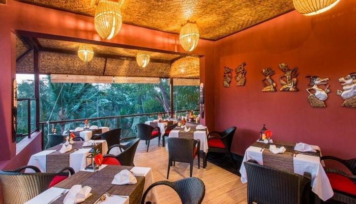 The Jungle Retreat Bali - Ruang makan